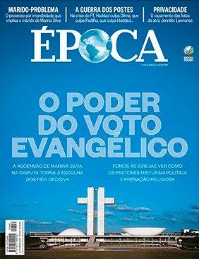 Capa da Revista Época de setembro/2014. Edição 849.