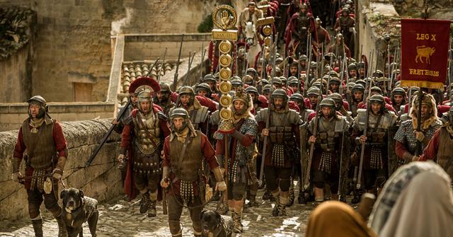 Cenas do filme Ben-Hur (Foto: divulgação)