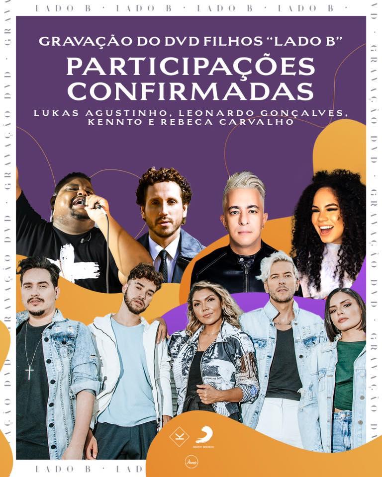 """Kemuel grava """"DVD Filhos Lado (B)"""" em SP nesta terça-feira"""