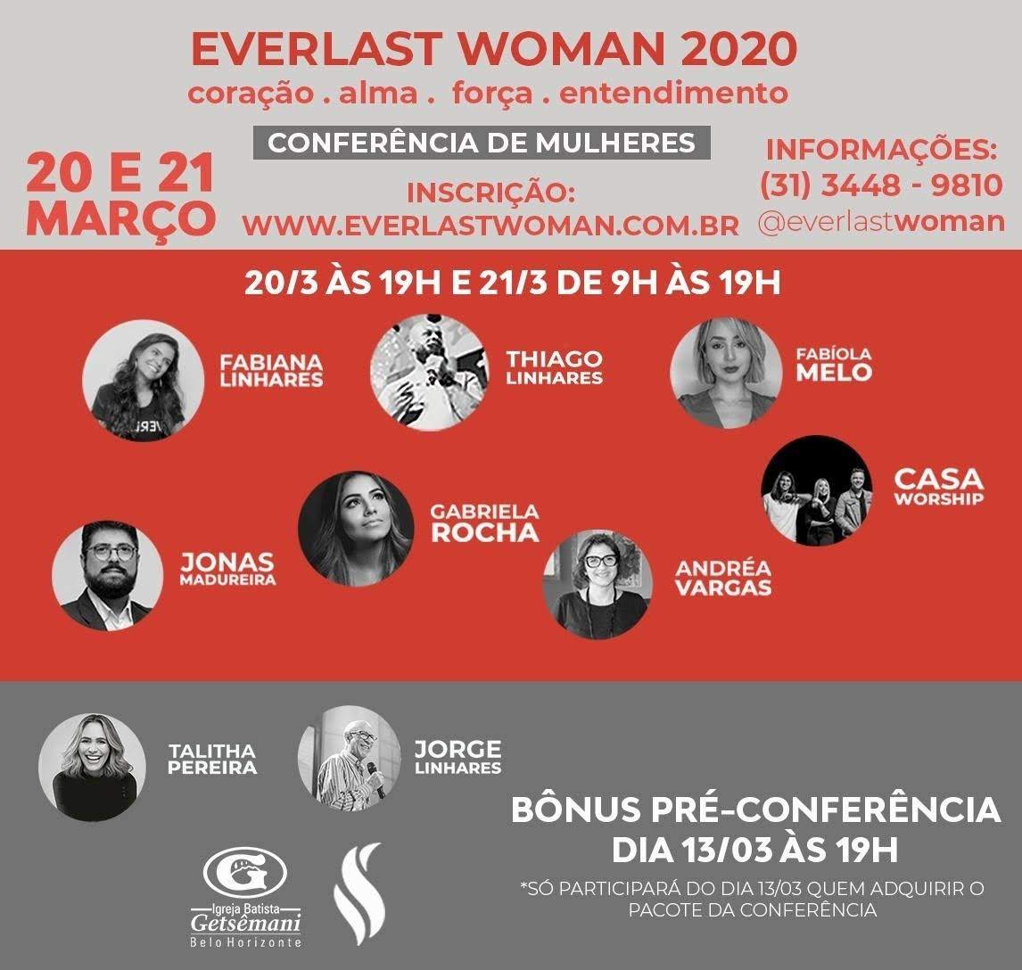 Conferência Everlast Woman 2020