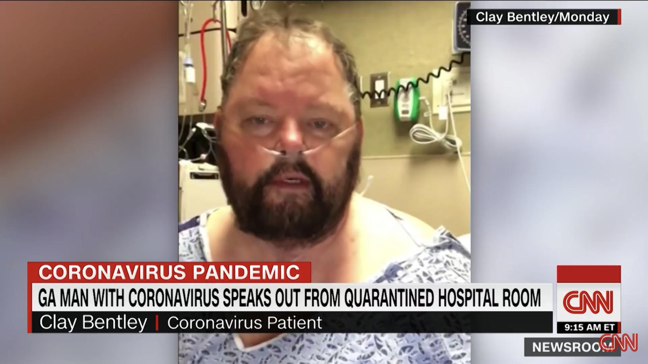 """Paciente com coronavírus: """"Deus começou a me dizer que eu estava melhorando"""""""