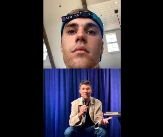 "Justin Bieber após transmitir culto online: ""Sinto que Jesus realmente ressoa comigo"""