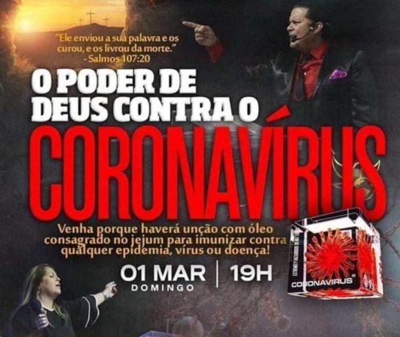 Igreja promete imunização contra o coronavírus