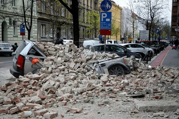 Terremoto de magnitude 5.3 causa destruição na Croácia e deixa um morto